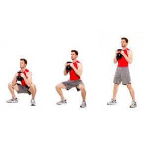 KB-squat